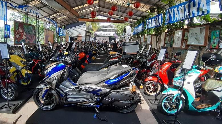 Kontes modifikasi Yamaha