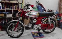 Ilustrasi Honda S 90 Z