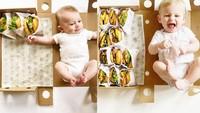 Keren! Ibu Ini Tiap Bulan Tandai Perkembangan Anaknya dengan Burger