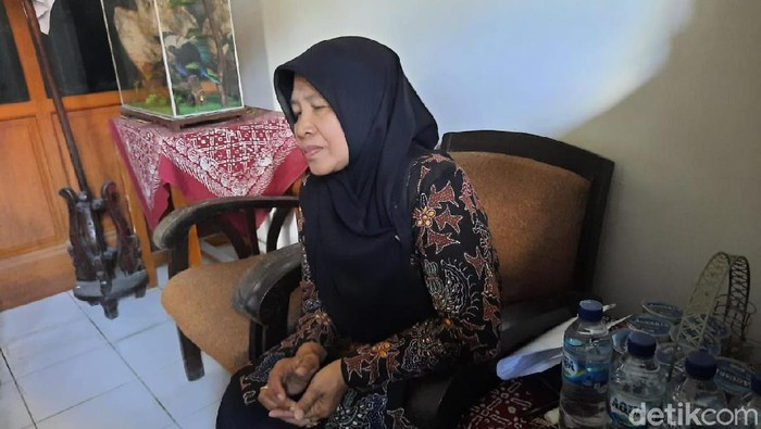 Kepala SMPN 1 Turi, Sleman, Tutik Nurdiana saat ditemui di sekolahnya, Sabtu (22/2/2020).