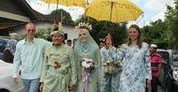 Kisah cinta pria Melayu dengan bule Italia