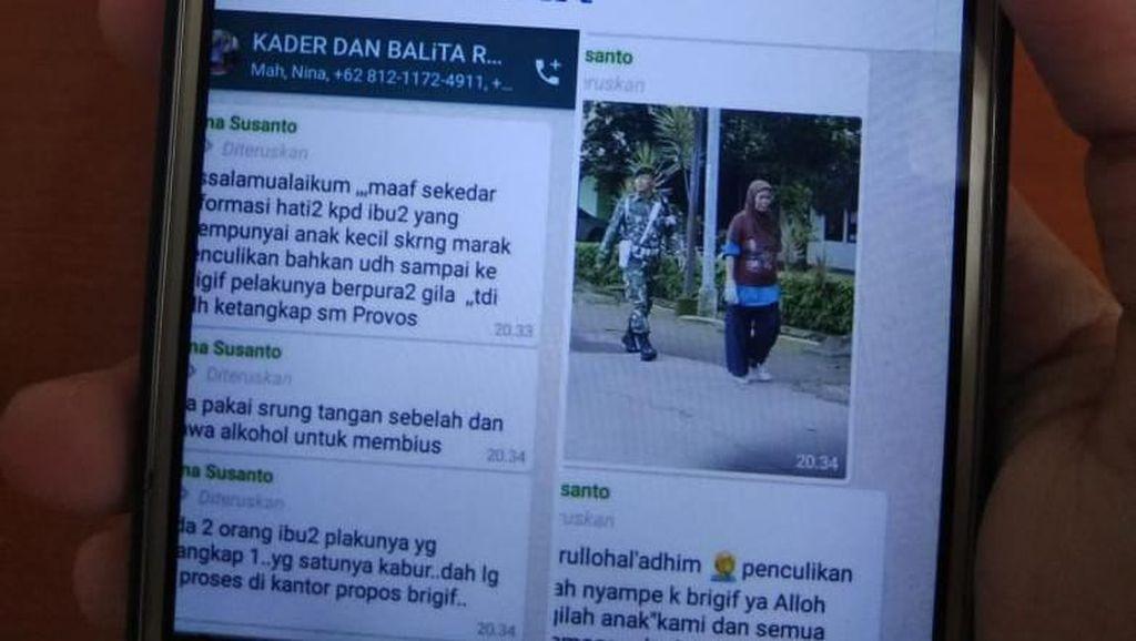 Viral Kabar Penculik Tertangkap di Brigif Cimahi, Polisi: Hoaks!