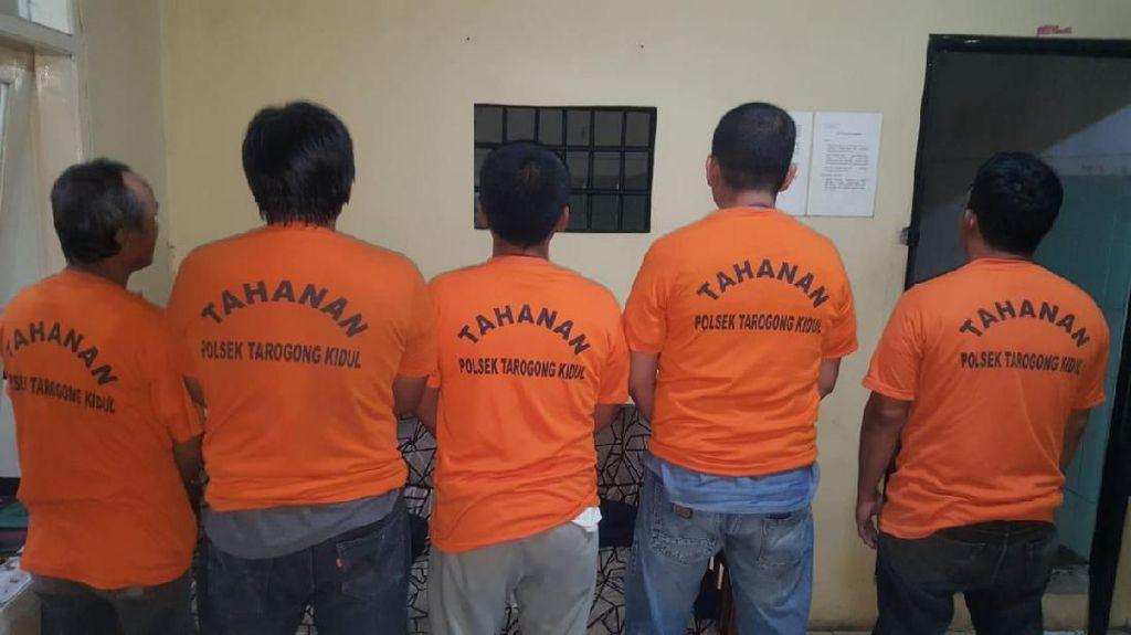 5 Pria di Garut Ditangkap Polisi Gegara Menadah Emas Curian