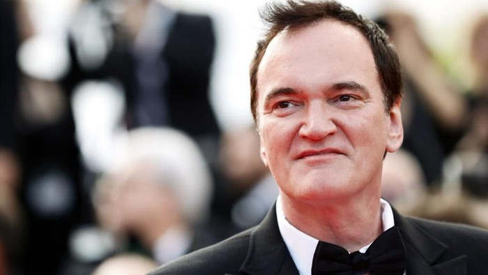 CANNES, FRANCE - MAY 25: Quentin Tarantino attends the closing ceremony screening of