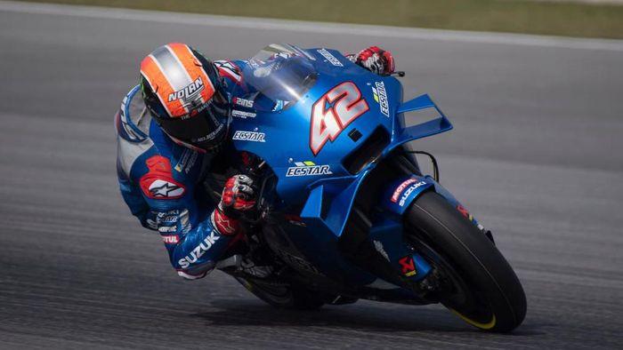 Alex Rins Tercepat Suzuki Kuasai Hari Pertama Tes MotoGP Qatar