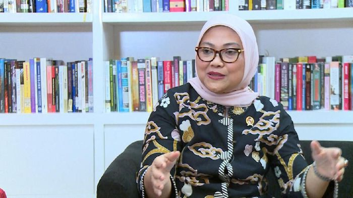 Menteri Tenaga Kerja Ida Fauziah