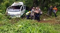 Bus Rombongan Wisatawan UIM Kecelakaan, I Orang Tewas