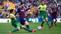 Tepuk Tangan Eibar untuk Lionel Messi