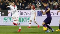 Fiorentina Vs AC Milan Berakhir Seri 1-1