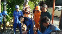 Ketua DPRD DKI Soroti Saluran Air Dekat RSCM Tersumbat