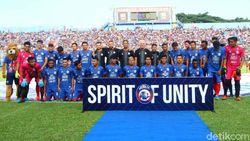 Arema FC Berharap Tuah Tangan Dingin Mario Gomez