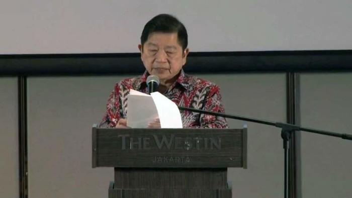 Menteri Perencanaan Pembangunan Nasional (PPN)/Bappenas, Suharso Monoarfa menghadiri penghargaan SBA Indonesia 2019, di Jakarta.