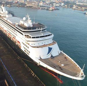 Kapal Pesiar Raksasa Mampir ke Semarang