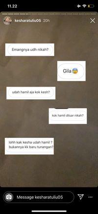 Kesha Ratuliu Unggah Hasil USG yang Bikin Netizen Heboh