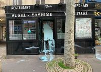 Jadi Sasaran Rasis, Resto Jepang di Paris Dirusak dengan Grafiti 'Coronavirus'