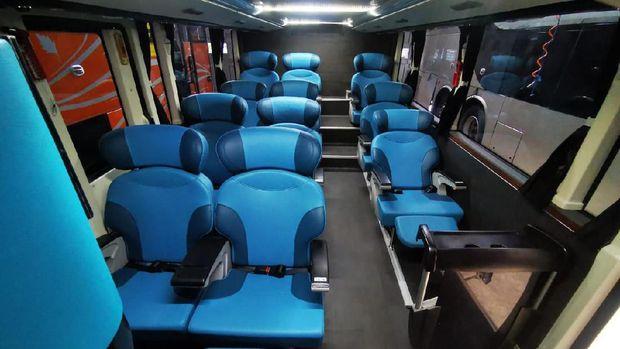 Bus tingkat Legacy SR2 Double Decker yang diekspor ke Bangladesh