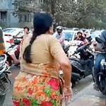 Viral, Nenek Usir Pemotor yang Naik Trotoar