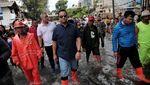 Potret Gubernur Anies Cek Penanganan Banjir Jakarta 23 Februari