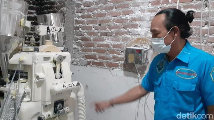 Pabrik Narkoba di Bandung
