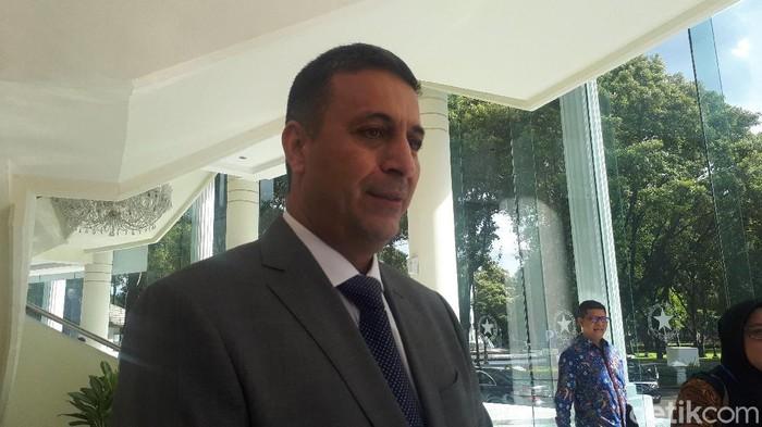 Duta Besar LBBP Kerajaan Hasyimiyah Yordania untuk Republik Indonesia Abdalah Suliman Abu Romman