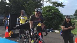 Inilah Para Juara Palembang Triathlon 2020, Salah Satunya Pensiunan 64 Tahun