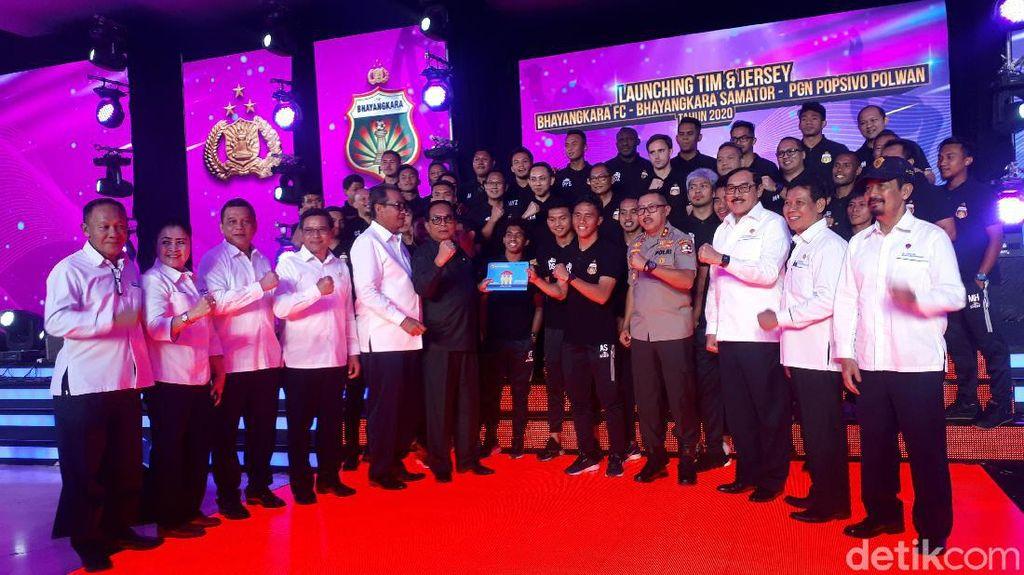 Ini 32 Pemain Bhayangkara FC di Liga 1 2020