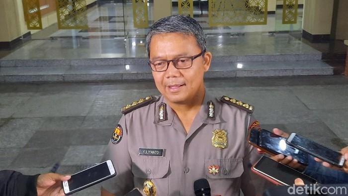 Kabid Humas Polda DIY Kombes Yulianto di Mapolda DIY, Senin (24/2/2020)