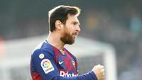 Messi Bisa Samai Rekor Gol Sepanjang Masa Pele di Akhir Musim
