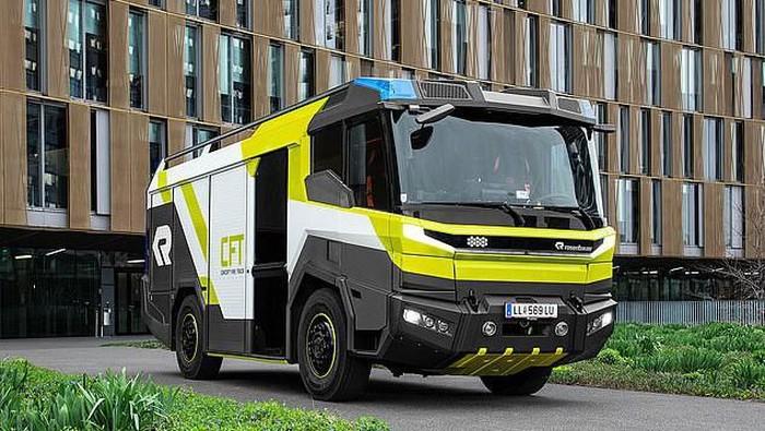 Truk Pemadam Kebakaran bertenaga listrik