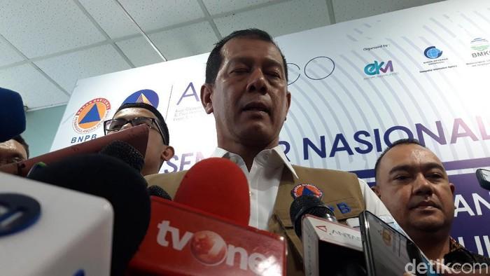 Kepala Badan Nasional Penanggulangan Bencana (BNPB) Letjen Doni Monardo