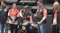 Wapres Maruf Amin Tampil ala Anak Klub Motor di Acara MPR