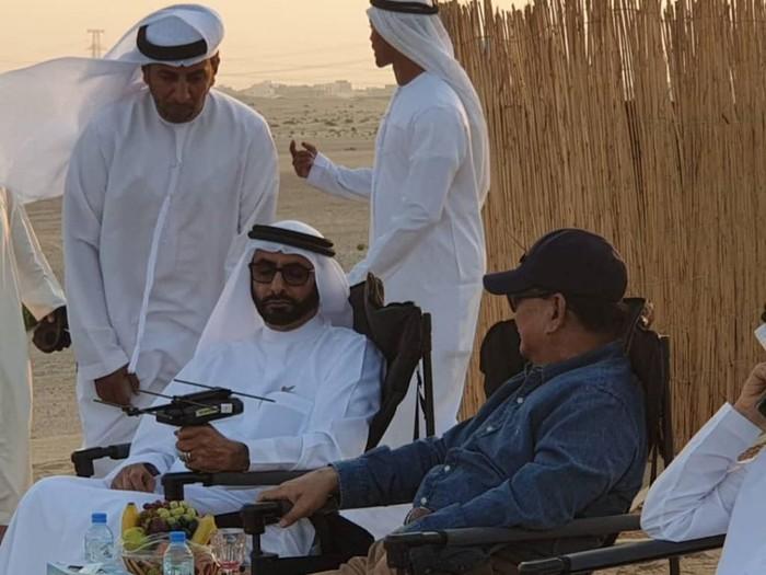 Menhan Prabowo rapat di gurun pasir/