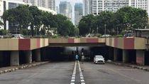 Banjir Underpass Kemayoran Surut, Kendaraan Bisa Melintas Satu Jalur