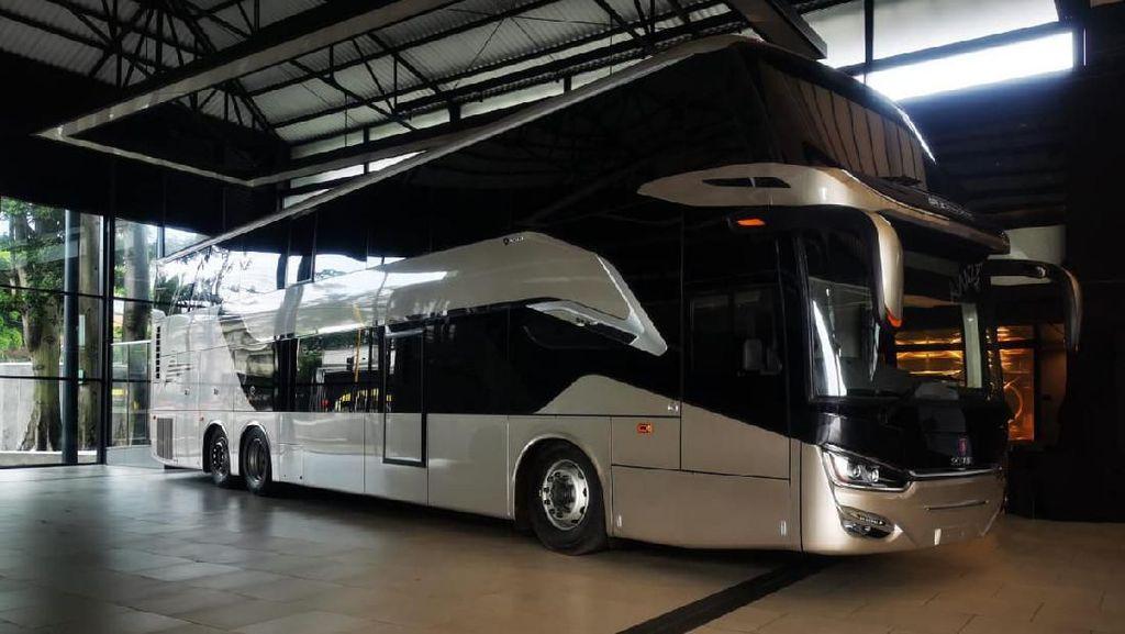 Bikin Bangga, Bus Buatan Indonesia Diekspor ke Timor Leste Hingga Bangladesh