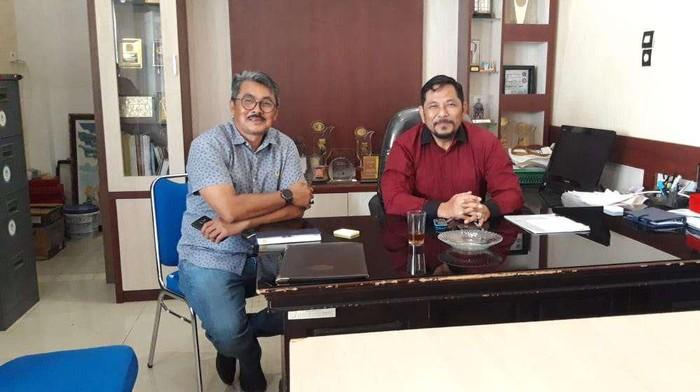 Kadis Pariwisata Kota Banda Aceh, Iskandar dan Ketua GAA Banda Aceh, Rd Iwan Soenaryo
