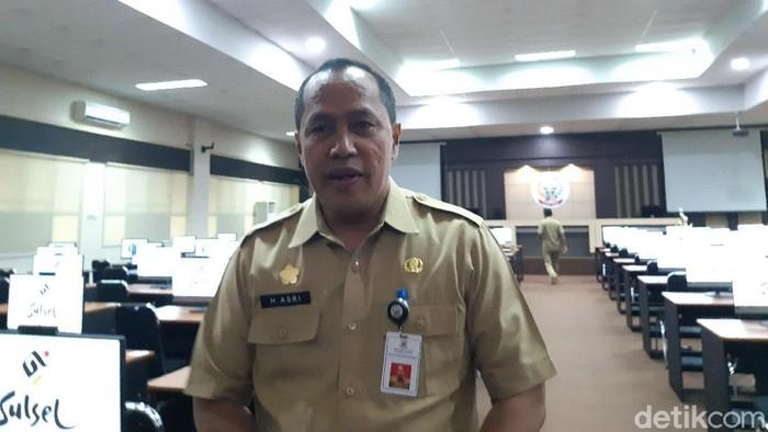 Kepala Badan Kepegawaian Daerah (BKD) Sulsel Asri Sahrun Said.