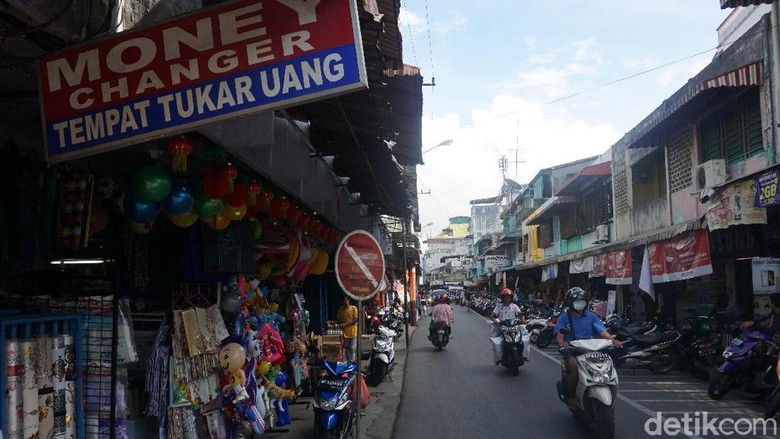 Kawasan pasar lama dan kota tua Tanjungpinang