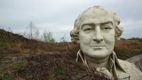 Patung Raksasa Presiden AS yang Sempat Terbengkalai Jadi Objek Wisata