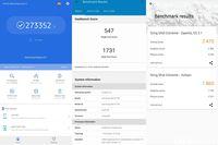 Hasil uji benchmark Galaxy A71