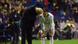 Apa Hazard Butuh Dioperasi, Zidane?