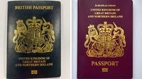 Keluar dari Uni Eropa, Inggris Ganti Warna Paspor