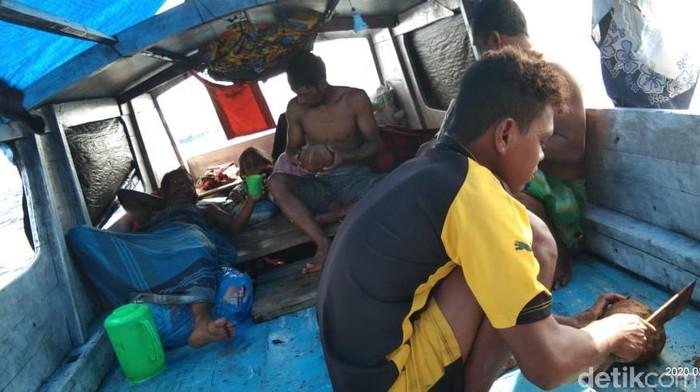 Kapal Rombongan Pengantin Jatim Terdampar di Pulau Kosong, 9 penumpang selamat