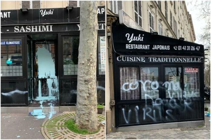 Restoran Jepang di Paris Dirusak Coronavirus