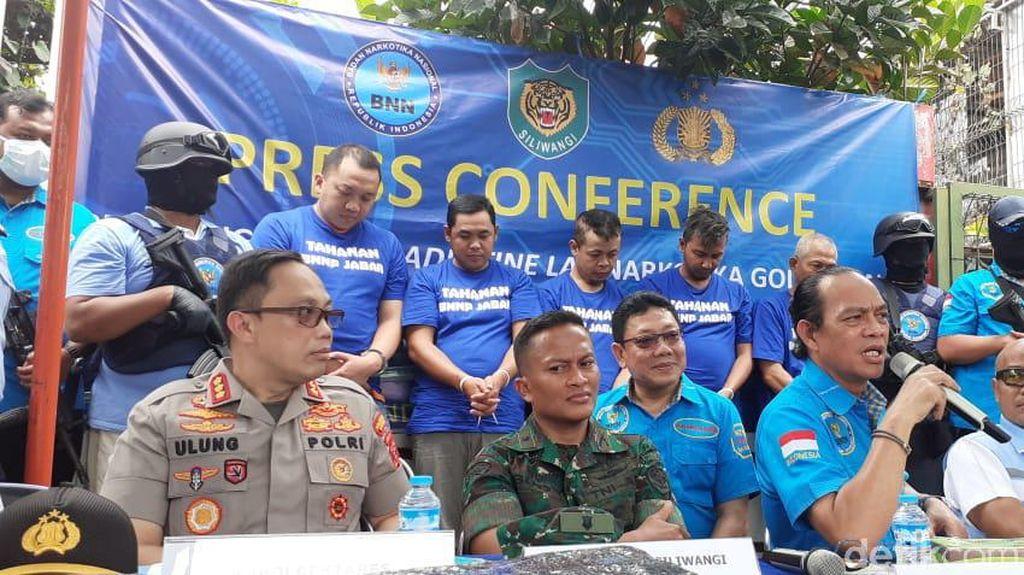 5 Tersangka Pabrik Pil Setan di Bandung Terancam Dimiskinkan