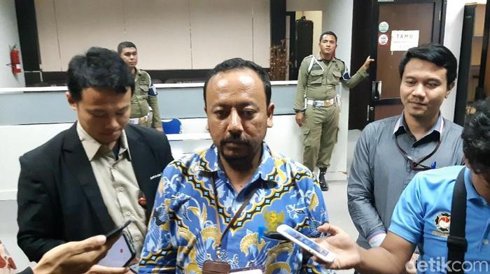 Kepala Ombudsman Perwakilan Banten Dedy Irsan