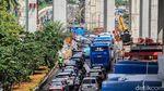 Dampak Proyek LRT, Rasuna Said Padat