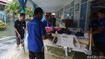 RSUD Kraton Kota Pekalongan Kebanjiran, Pasien Dievakuasi