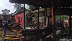 Pabrik Tahu di Cikaret Cianjur Ludes Terbakar