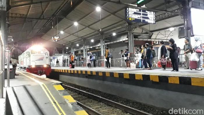 Stasiun KA Tugu, Yogyakarta, Selasa (25/2/2020).