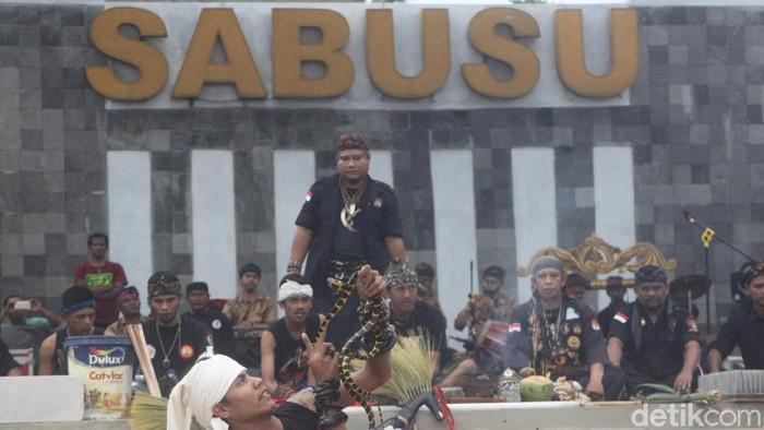 Saung Budaya Sumedang kembali diresmikan